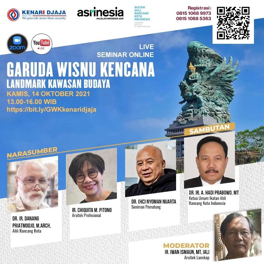 Seminar Online Garuda Wisnu Kencana 1